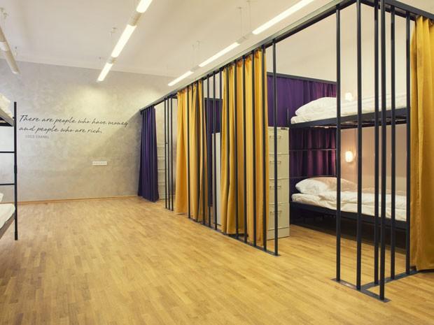 Hostel Tresor, na Eslovênia, um hotel dentro de um banco (Foto: Divulgação/Tresor)