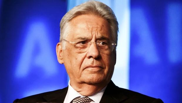 O ex-presidente Fernando Henrique Cardoso (FHC) em palestra (Foto: Reprodução/Facebook)