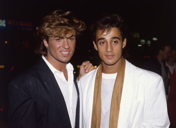 George Michael e Andrew Ridgeley (Foto: Getty Images)