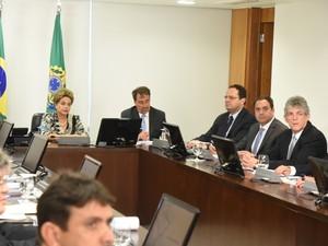 Reunião dos governadores do Nordeste em Brasília (Foto: Humberto Pradera/SEI)