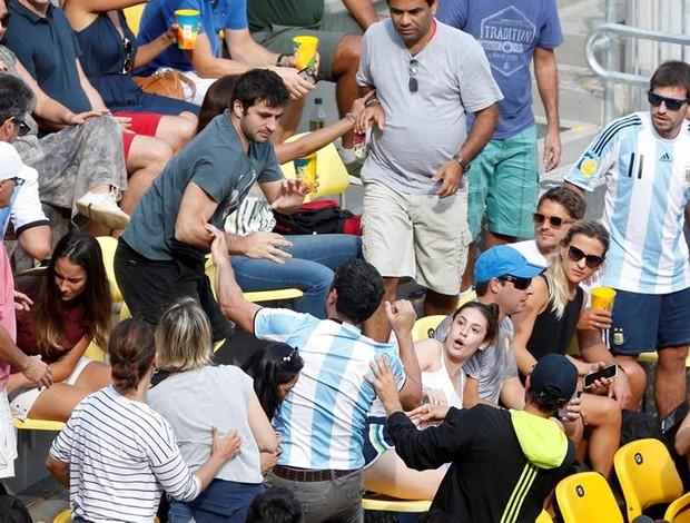 briga tênis brasil argentina