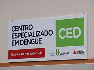Centro Especializado em Dengue Uberaba (Foto: Reprodução / TV Integração)