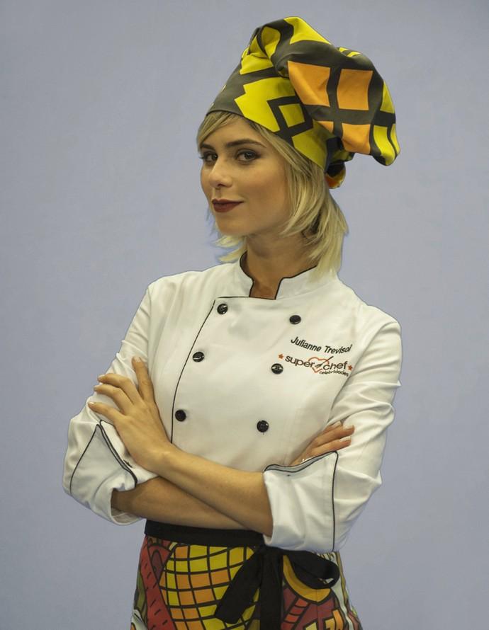 Julianne Trevisol participa do 'Super Chef Celebridades 2016' (Foto: TV Globo)