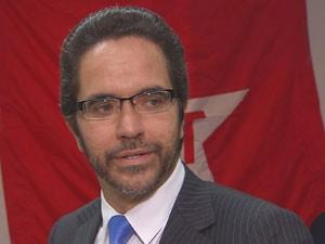 Maurício Rands abriu mão da candidatura em prol de Humberto Costa (Foto: Reprodução/TV Globo)