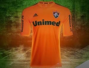 camisa laranja Fluminense (Foto: Reprodução)