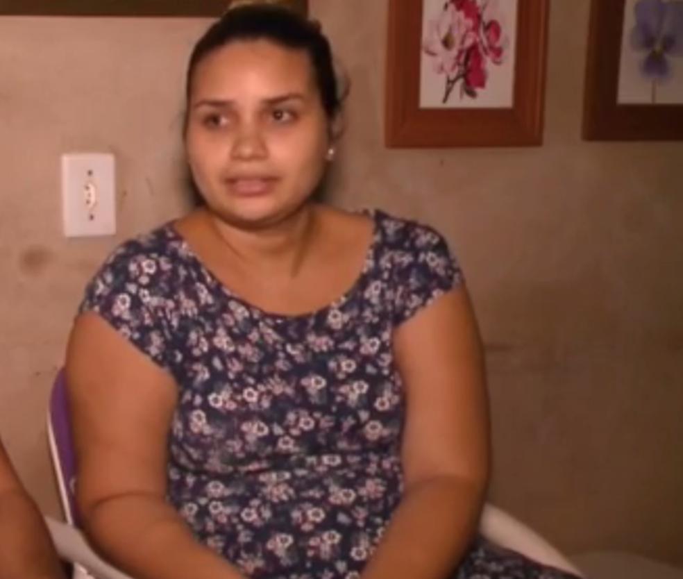 Thamara Veloso, vítima de erro médico no Piauí (Foto: Reprodução/TV Clube)
