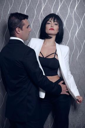 Laura Keller e Jorge Sousa (Foto: Marcos Serra Lima / EGO)
