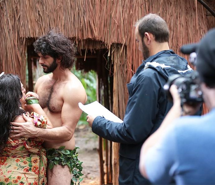 Gshow acompanhou de pertinho as gravações das cenas  (Foto: Isabella Pinheiro/Gshow)
