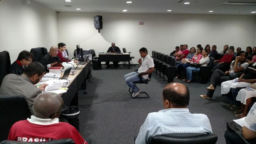 Julgamento foi realizado nesta terça-feira (30) em São Luís (Foto: Douglas Pinto / TV Mirante)