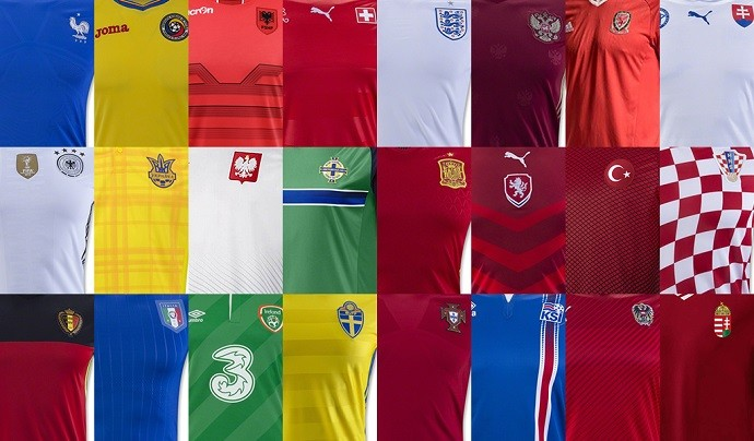 Camisas Eurocopa