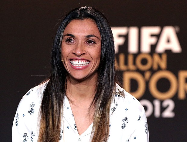 Marta prêmio Bola de Ouro  (Foto: Getty Images)