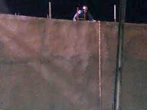 Corda foi utilizada na fuga dos presos (Foto: Reprodução/Polícia Penitenciária)