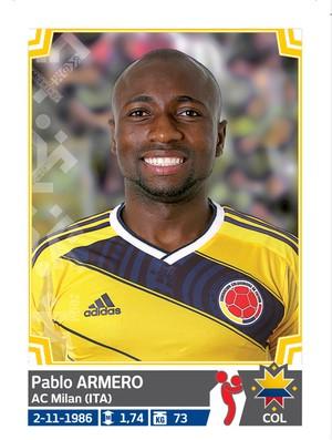 Álbum da Copa América - Armero Equador