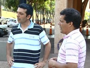 Parentes de criança ferida em acidente esperam notícias no HC da Unicamp. (Foto: Reprodução/EPTV)