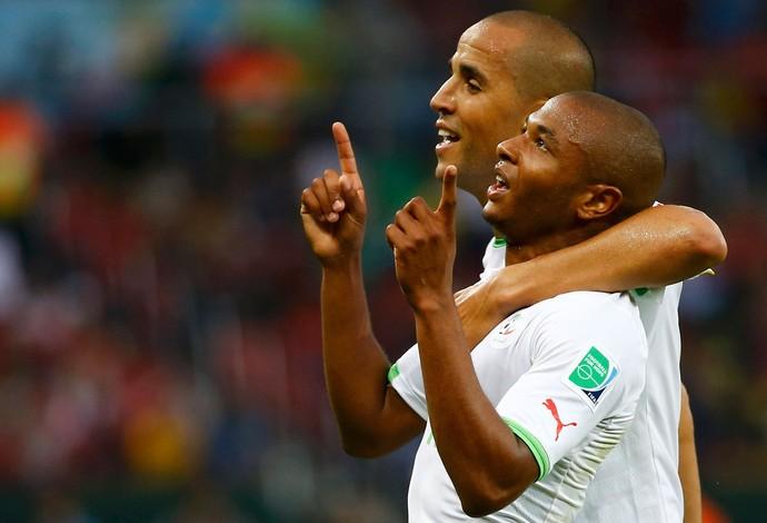Yacine Brahimi gol Argélia x Coreia  (Foto: Reuters)
