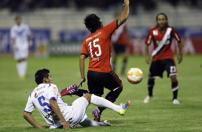 San josé 2 x 0 River Plate Libertadores - AP (Foto: AP)