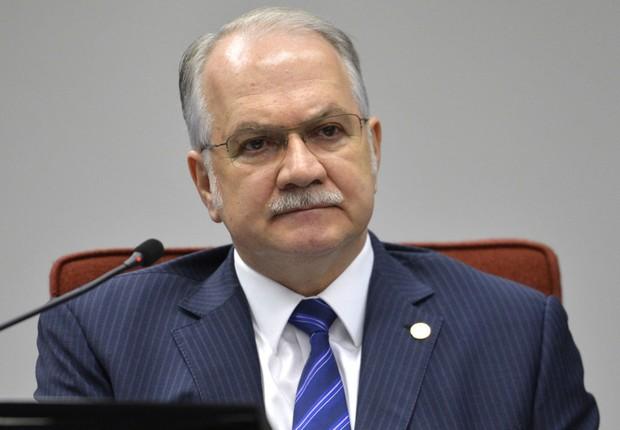 O ministro do STF Luiz Edson Fachin (Foto: José Cruz/Agência Brasil)