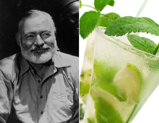 Hemingway e mojito (Foto: getty images/ reprodução)