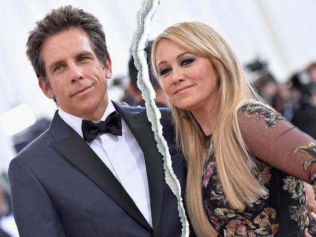 Ben Stiller e Christine Taylor (Foto: Getty Images)