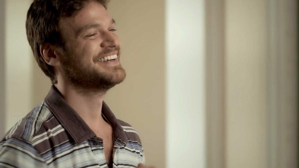 Ok, vamos assumir: como não amar Rubinho?! 😍😍😍😍😍😍😍😍😍 (Foto: TV Globo)