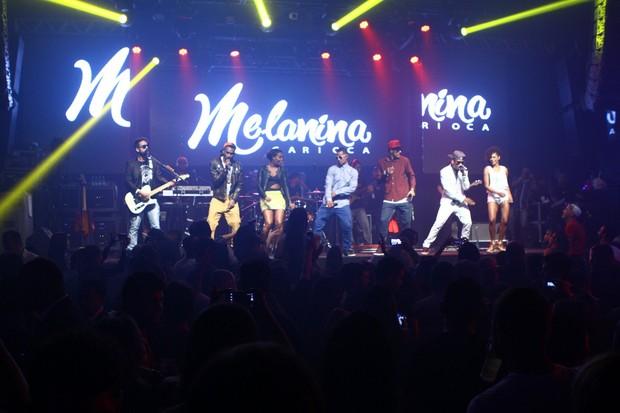 Show do Melanina Carioca (Foto: Raphael Mesquita/Divulgação)