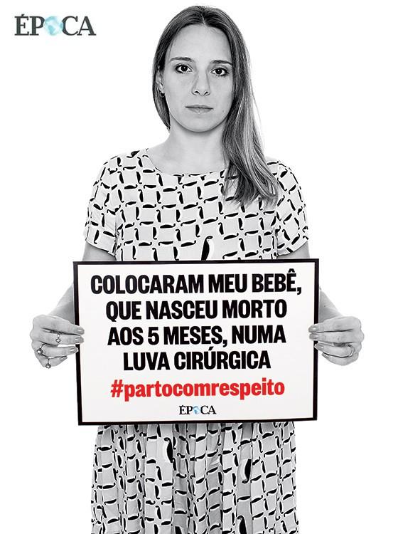 TALMAI TERRA 31 anos Ela sofreu um aborto natural.  A insensibilidade  da equipe médica piorou a situação  (Foto: Julia Rodrigues/ÉPOCA)