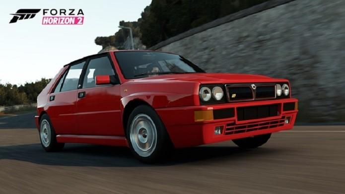 Forza Horizon 2 também contará com o hexa-campeão Lancia Delta HF Integrale. (Foto: Divulgação)