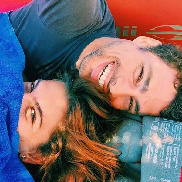 Cauã Reymond e Mariana Goldfarb (Foto: Reprodução / Instagram)