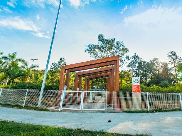 Jardim Sensorial Campus UFJF (Foto: Caique Cahon/UFJF)