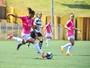 Futebol feminino: São José estreia nos Abertos com empate contra o XV