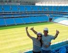Envie fotos  da abertura  do estádio (Wesley Santos / Divulgação)