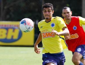 Egídio, Ceará, Cruzeiro, treino, Toca da Raposa II (Foto: Washington Alves / Vipcomm)