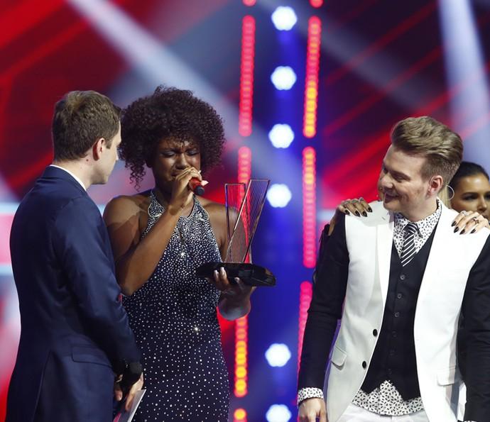 Mylena venceu a quinta temporada do The voice Brasil (Foto: Artur Meninea/Gshow)