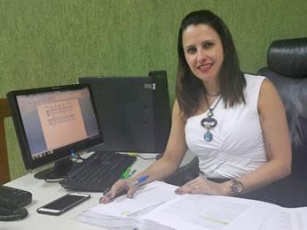 A coordenadora de Nefrologia da Secretaria de Saúde do Distrito Federal, Karime Veiga (Foto: Raquel Morais/G1)