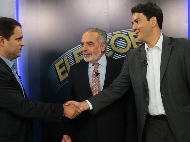Debate do segundo turno para São Luís (MA) entre Edivaldo Holanda Júnior e Eduardo Braide (Foto: Biaman Prado/O Estado)