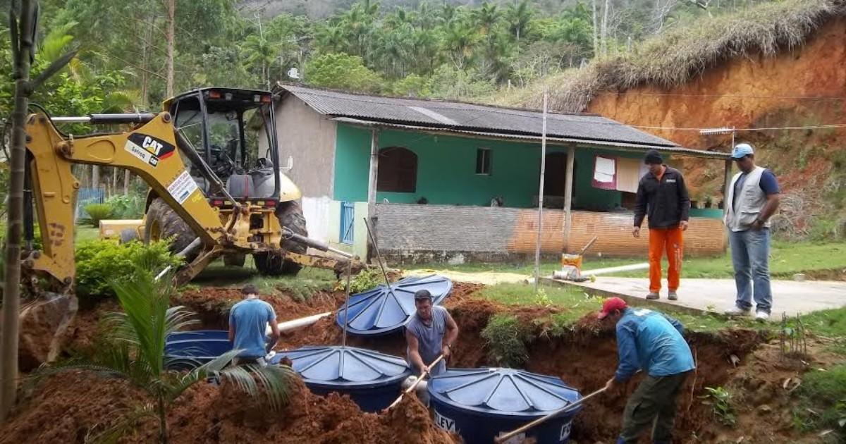 Sistemas de saneamento rural são instalados em Madalena, no RJ - Globo.com