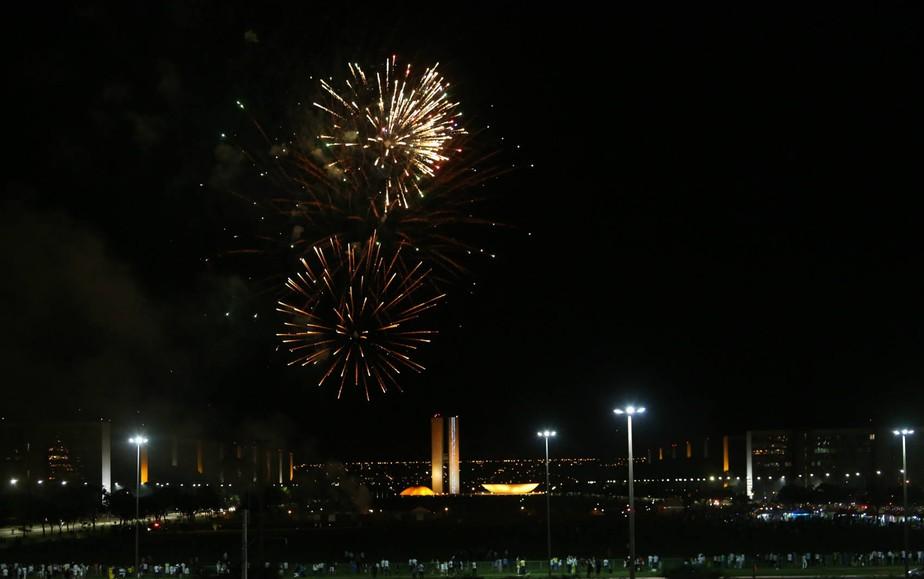 Réveillon na Esplanada leva 10 mil ao centro de Brasília, diz governo