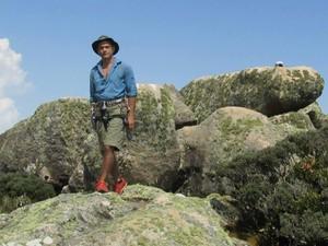 Antonio no cume do Pico Maior em Friburgo (Foto: Divulgação)