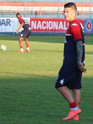 Rodrigo Andrade, treino do Fortaleza (Foto: Divulgação/Fortaleza)