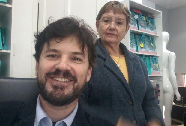 Alexandre e Santina Gigante, da SOS Presentes (Foto: Divulgação)