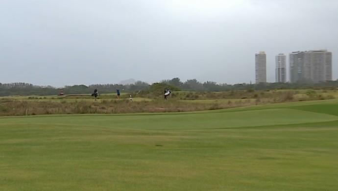 Campo de golfe (Foto: Reprodução / SporTV)