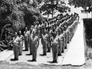 Em 1975, 470 sentinelas faziam parte da Guarda Territorial do Amapá (Foto: Arquivo Pessoal/Orion Yataco)