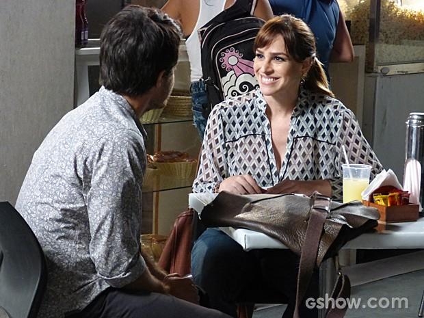 Raíssa conta que não quer mais ter filho  (Foto: Malhação / TV Globo)