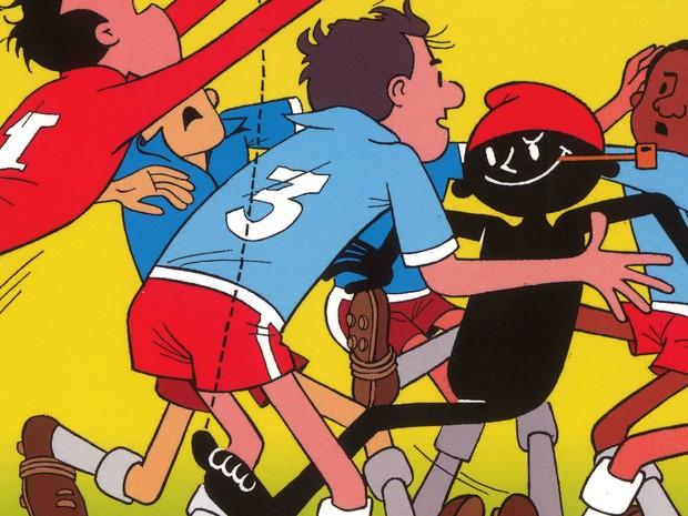 Quadrinhos fazem parte de exposição da Turma do Pererê (Foto: Divulgação)