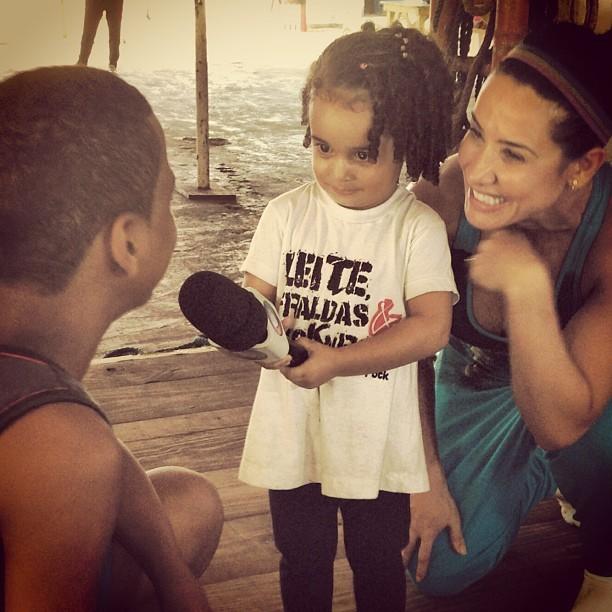Filha de Sheila Carvalho (Foto: reprodução/instagram)
