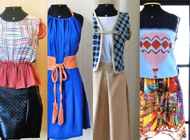 Peças trazem características peculiares para combater a massificação da moda (Foto: Ateliê Azul de Metileno / Arquivo)