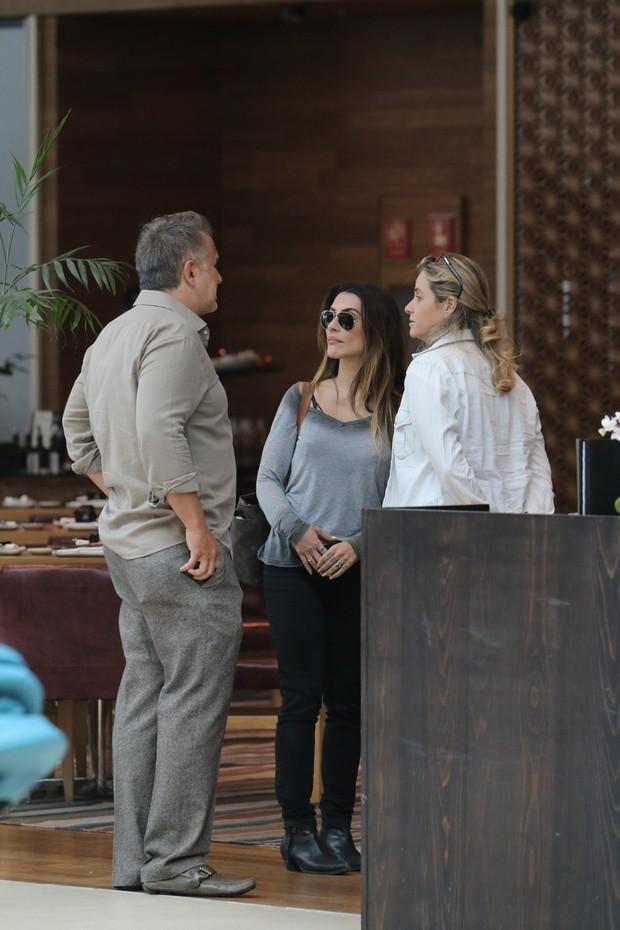Cleo Pires, Orlando Morais e Pinny Montoro (Foto: Fabio Moreno / AgNews)
