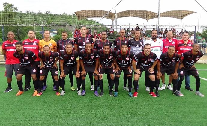 O time do Unilog foi o vice-campeão capixaba de futebol 7 em 2016 (Foto: Rodrigo Leal/Unilog)