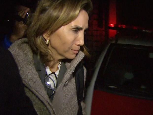 Prefeita Dárcy Vera prestou depoimento por nove horas na Procuradoria Geral do Estado (Foto: Reprodução/EPTV)