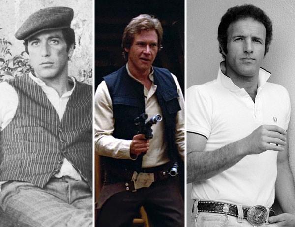 Al Pacino, Harrison Ford e James Caan tiveram o papel de Han Solo nas mãos, mas acabou ficando com o intérprete de Indiana Jones (Foto: divulgação)